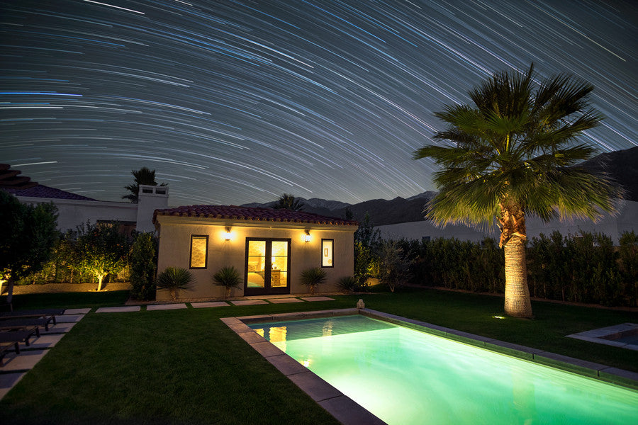 Palm Springs Star Trails