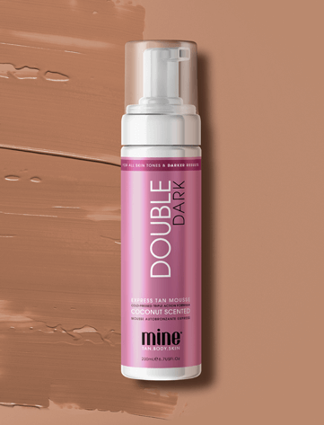 Double Dark Self Tan Mousse