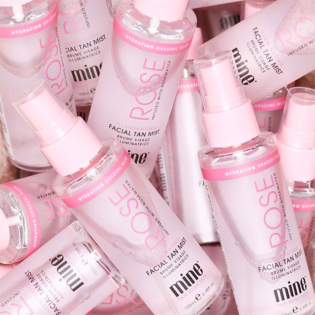Tanning Skincare products