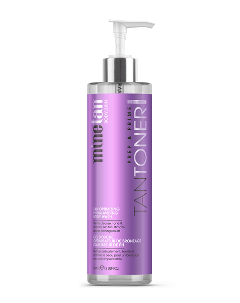 MineTan Body Skin Tan Toner Body Wash Mine Body
