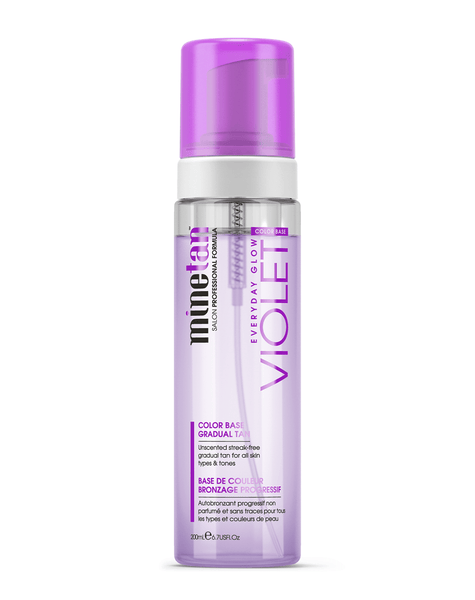 MineTan Body Skin Violet Gradual Tan Foam Mine Foam