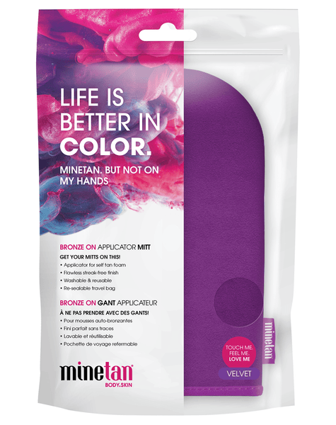 MineTan Body Skin Refurbished Bronze Babe Personal Spray Tan Kit - Pink Mine Bronze Babe