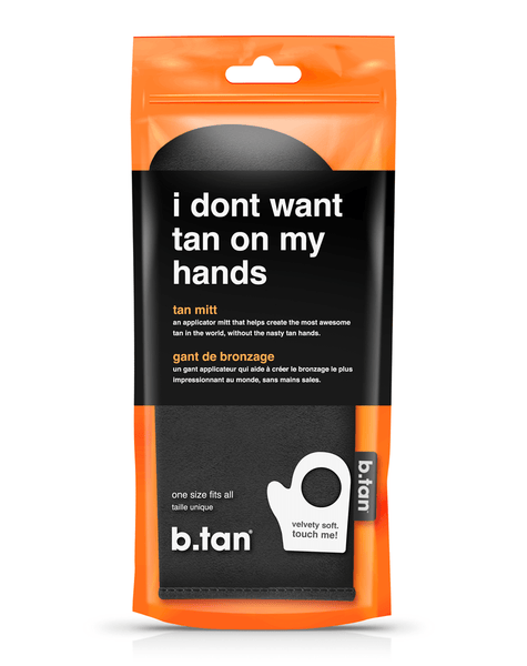 b.tan i don't want tan on my hands... b.tan body