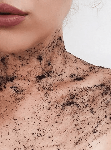 MineTan Body Skin Coffee Scrub Mine Body