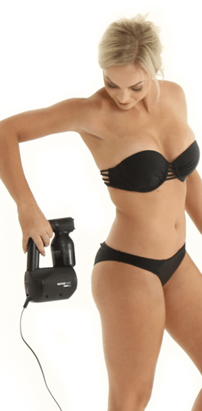 MineTan Body Skin Refurbished Bronze Babe Personal Spray Tan Kit Mine Bronze Babe