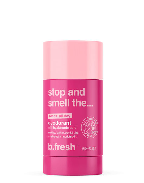 b.fresh stop and smell the... roses deodorant