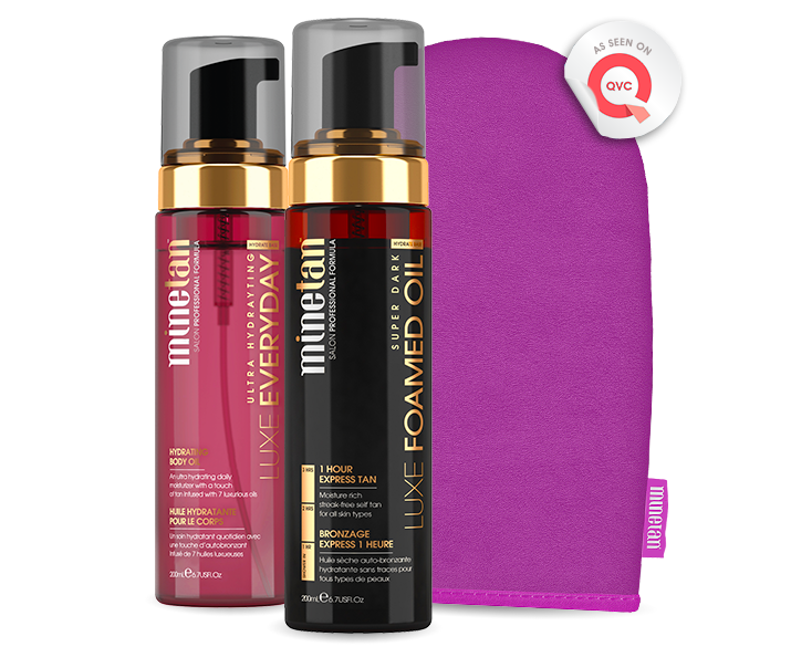 Luxe Oil Tanning Pack