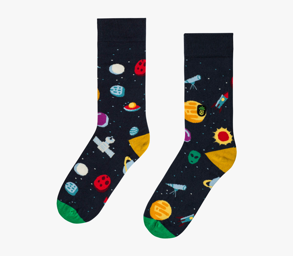 Space X Crew Limited - Funny Socks