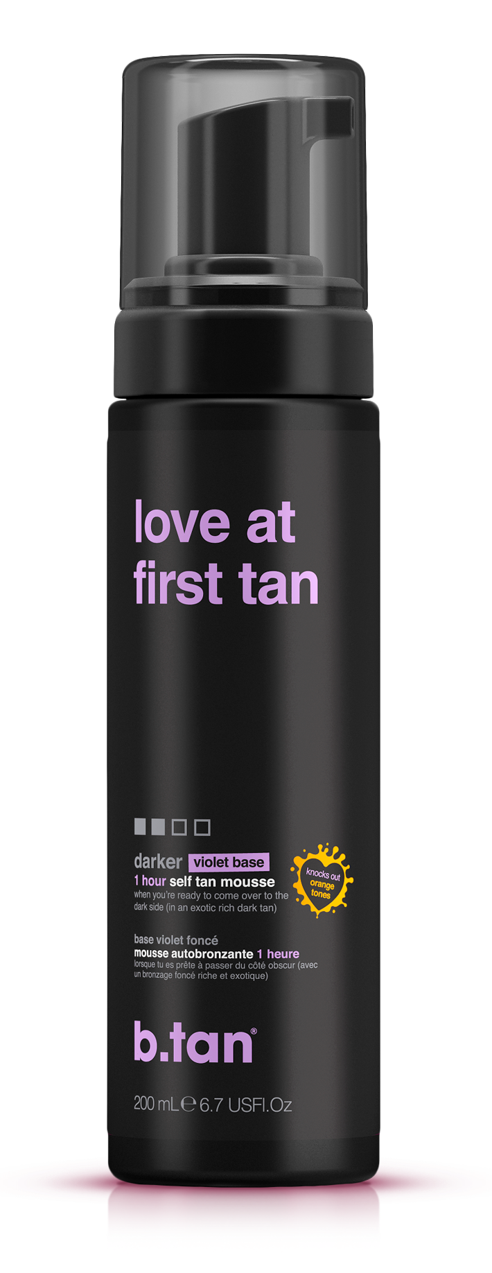 love at first tan self tan mousse