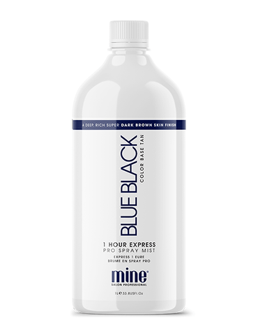 Blue Black Pro Spray Mist MineTan Body Skin