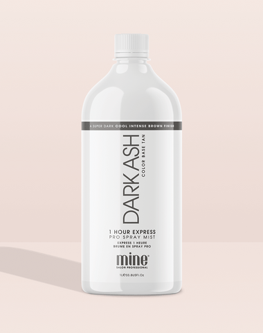 Dark Ash Pro Spray Mist MineTan Body Skin