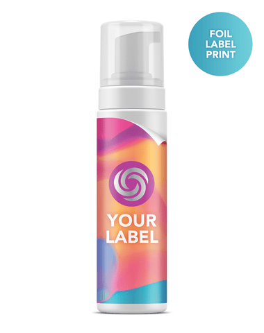 Foil Label Print Private Label