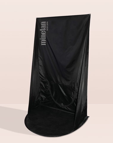MineTan Tan Curtain - Black MineTan Body Skin
