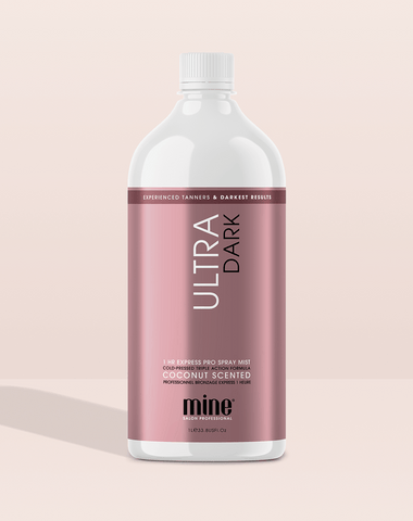 Ultra Dark Pro Spray Mist MineTan Body Skin