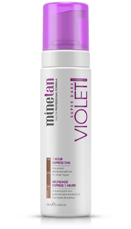 MineTan Violet Self Tan Foam