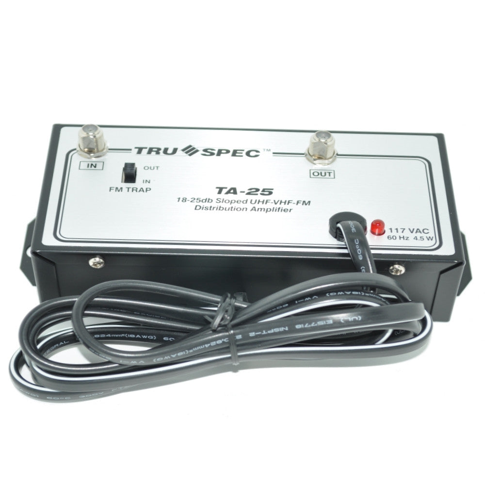 Pico Digital TA-25  18-25 dB UHF/VHF/FM Distribution Amplifier‎ - 21st Century Entertainment Inc.