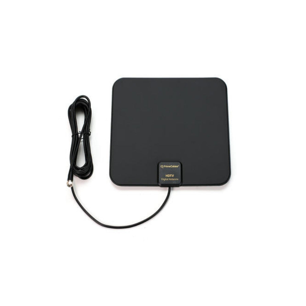 Super Thin Indoor HD TV Antenna - Maximal Range: 25 Miles - 21st Century Entertainment Inc.