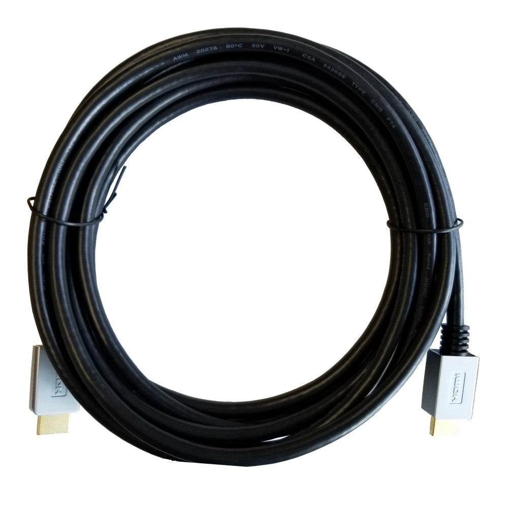 CDD HDMI Cable, 4K Ultra HD, 2160P, 3D Compatible, 28AWG, CSA & FT4, 15 Ft - 21st Century Entertainment Inc.