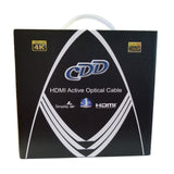 CDD High Speed HDMI 2.0 Active Optical Cable, 80 Ft - 21st Century Entertainment Inc.