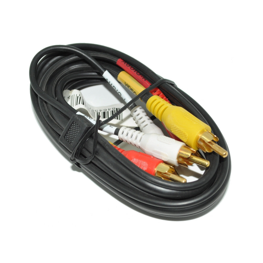 Audio Video Cable 6 Ft, Bulk - 21st Century Entertainment Inc.