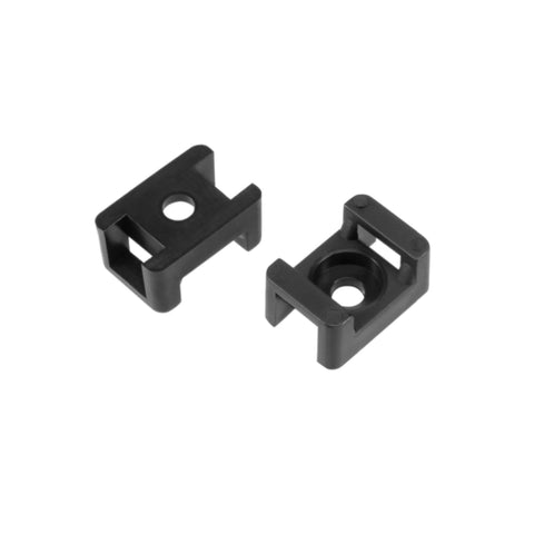 "CDD Single Cable Clips with Screw for RG6 Cable, 5/16"" Dia. 100 Pieces"