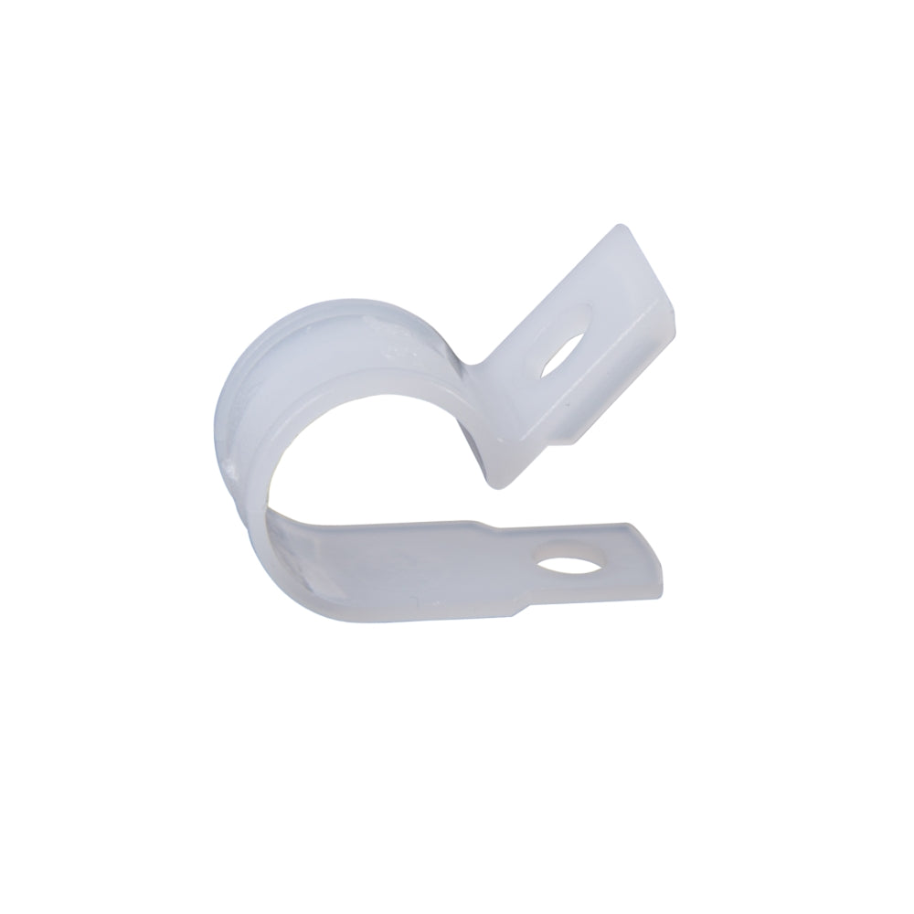 "CDD Cable Clips with Screw for Cat6 Cable, 1/4"" Dia. 100 Pieces"