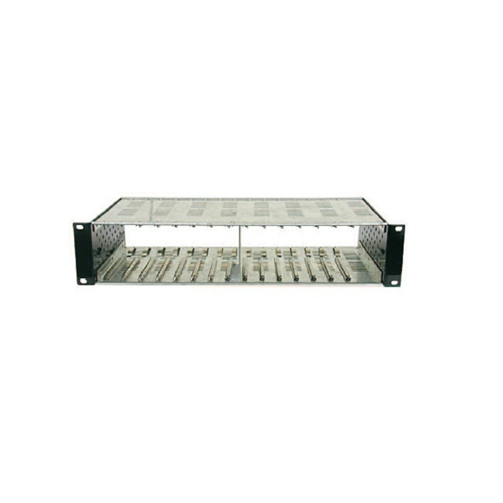 Holland Electronics HMR Rack for Mini Modulators, holds 12 Modulators - 21st Century Entertainment Inc.