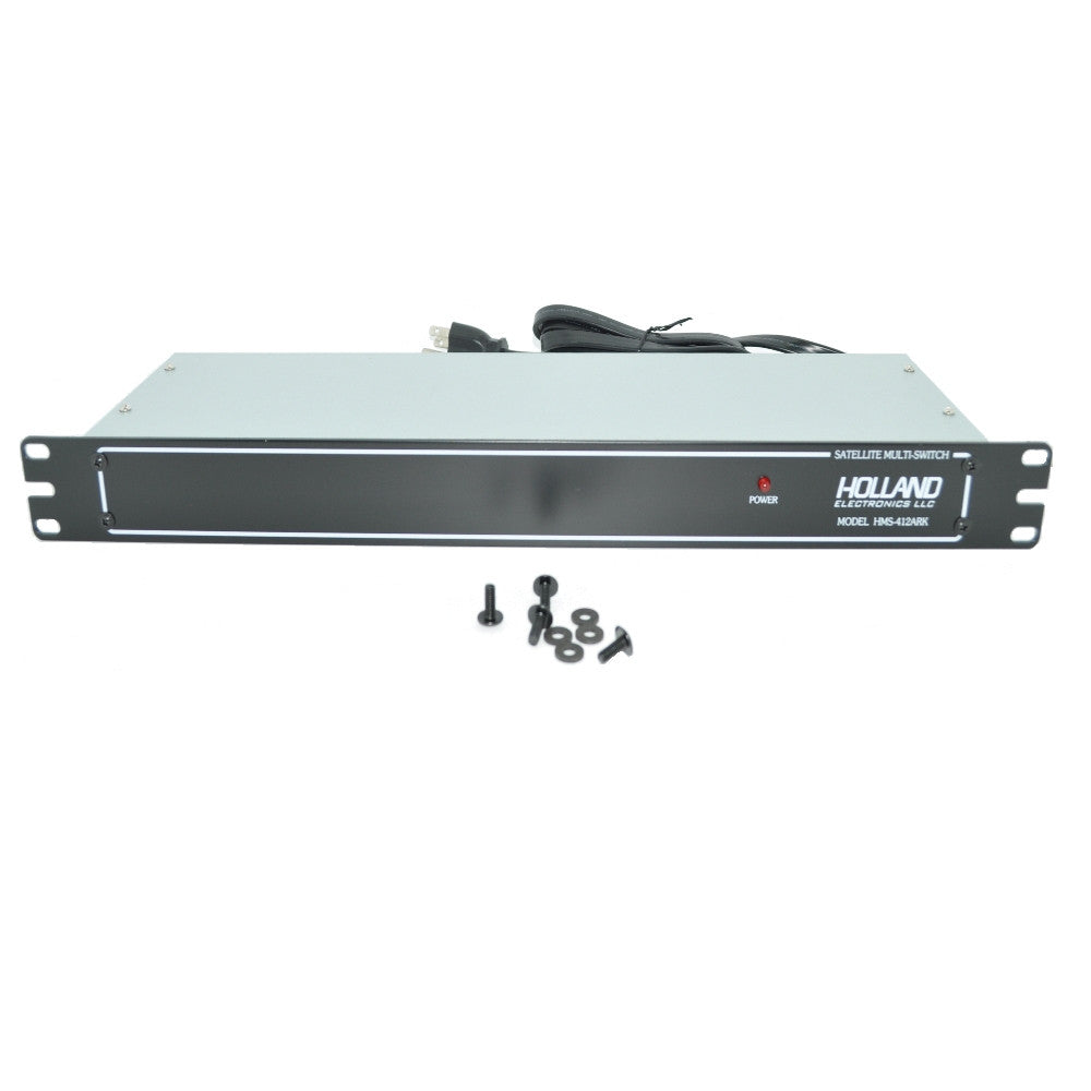 Holland Electronics HMS-412ARK 4 X 12 Multi Switch, Rack Mountable - 21st Century Entertainment Inc.
