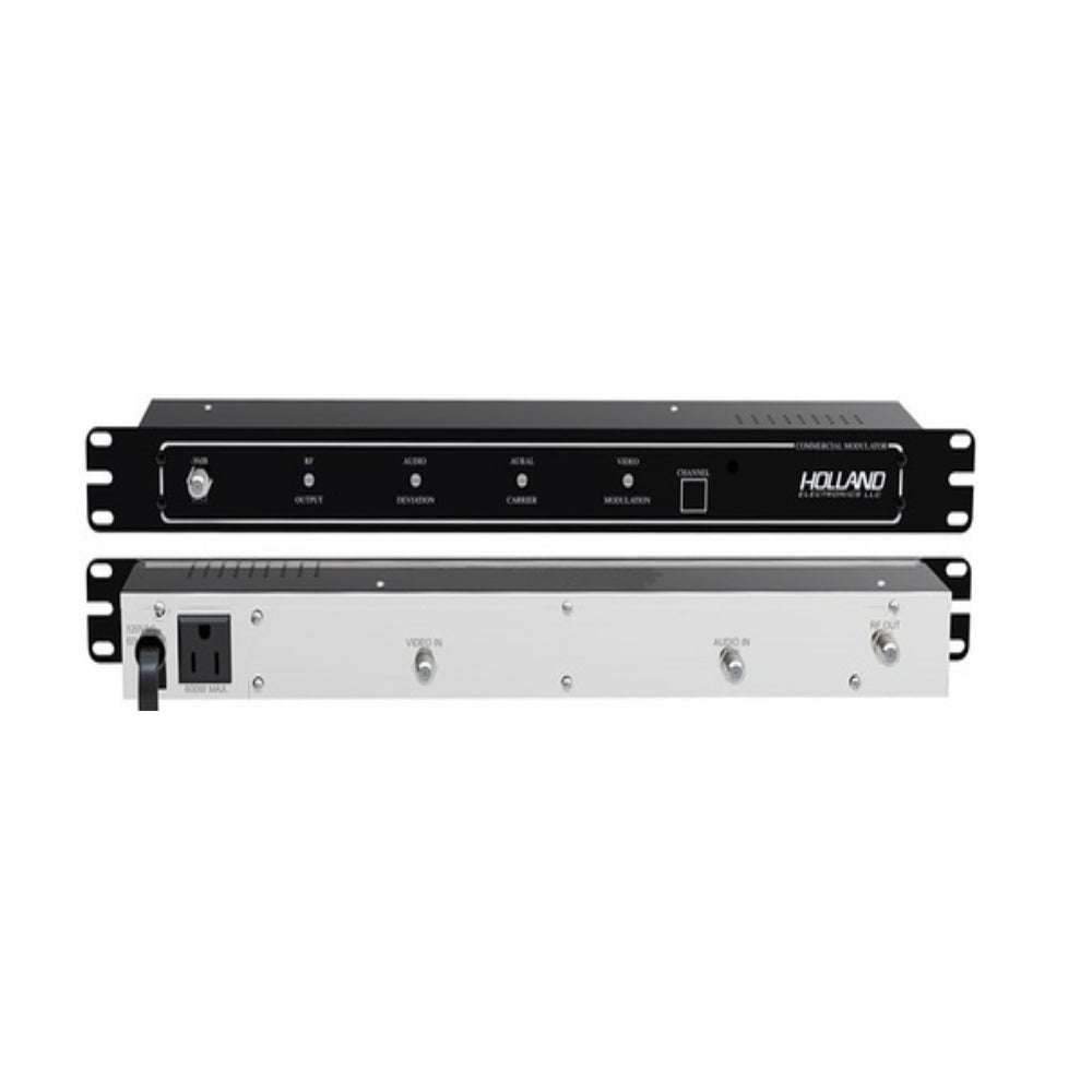 Holland Electronics HPM55 Fixed Channel Modulator, Ch 2 - Ch 30 - 21st Century Entertainment Inc.