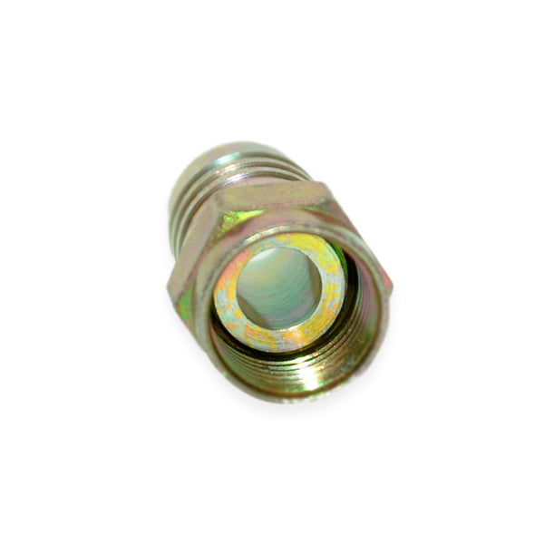 RG-6 Gold Hex Crimp Connector, 100 per Pack - 21st Century Entertainment Inc.