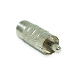 F Female to RCA Male Adaptor - 21st Century Entertainment Inc.