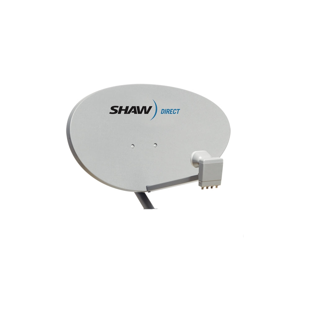 Shaw Direct 60 cm Satellite Dish with XKU Lnbf - 21st Century Entertainment Inc.