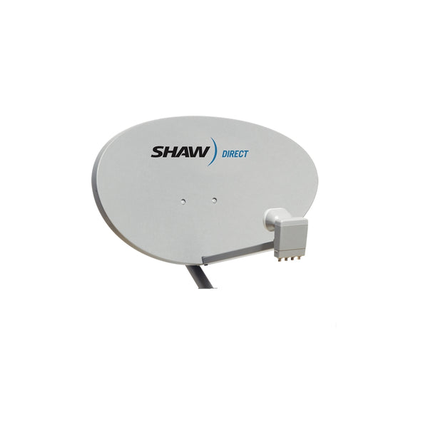 Shaw Direct 75 cm Satellite Dish with XKU Lnbf - 21st Century Entertainment Inc.