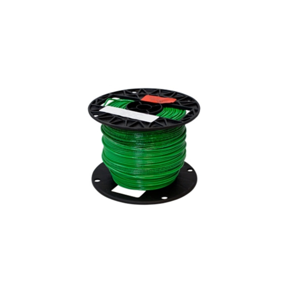 Ground Wire, 14AWG, Green Jacket, 500 Ft