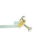 Ground Strap Galvanized 12