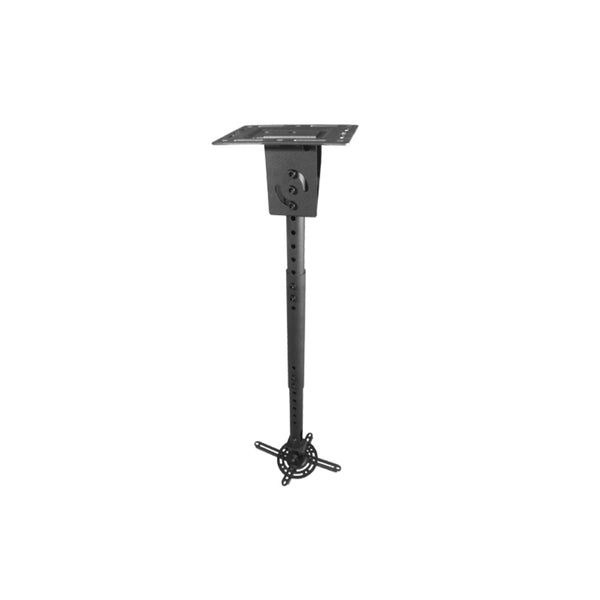 Royal Mounts ROY7409PMB Universal Projector Pole Mount for Projectors up to 33 lbs. (Black) - 21st Century Entertainment Inc.