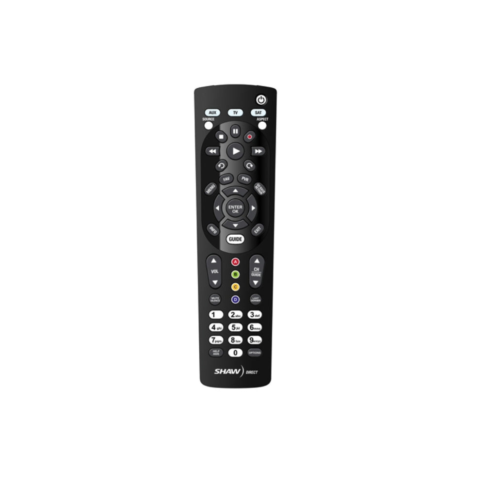 Shaw Direct URC600 3:1 UHF Remote - 21st Century Entertainment Inc.