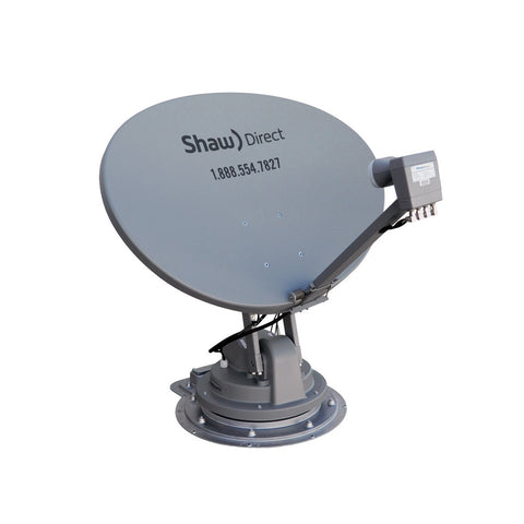 Winegard SK-1000 TRAV'LER Automatic Multi-Satellite HDTV Antenna for DISH & BellTV (White)