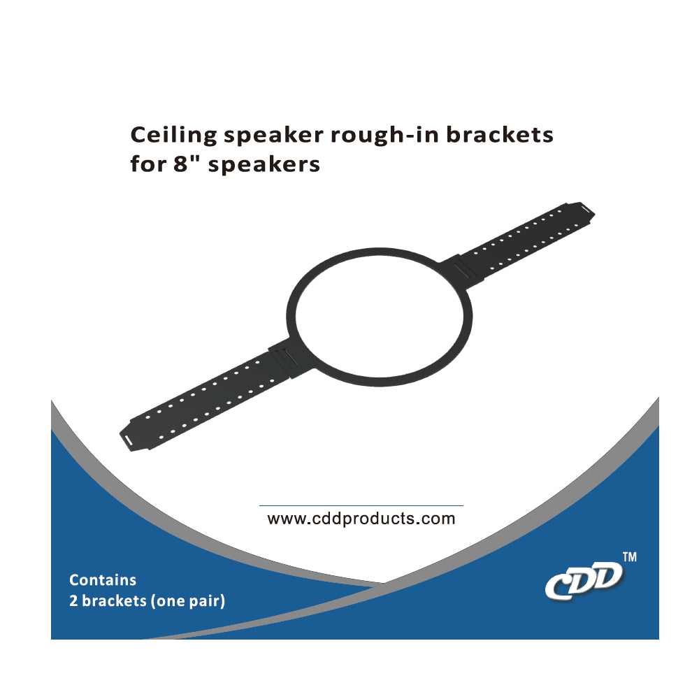 "CDD Rough-in-Bracket for 8"" In-Ceiling Speakers (Each)"