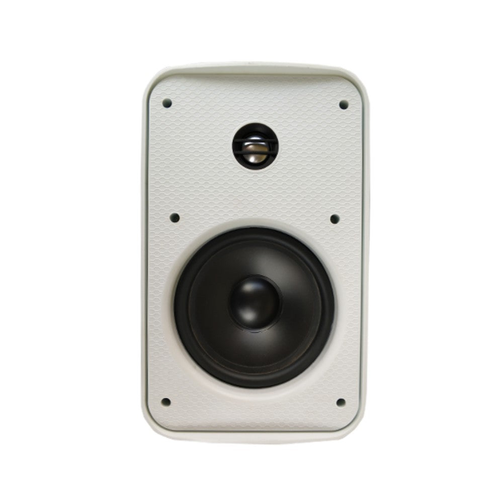 "CDD 6.5"" Outdoor On Wall Speakers, 80 Watts/8 Ohm, IP56 Rated, 60Hz - 18Khz (Pair) - 21st Century Entertainment Inc."