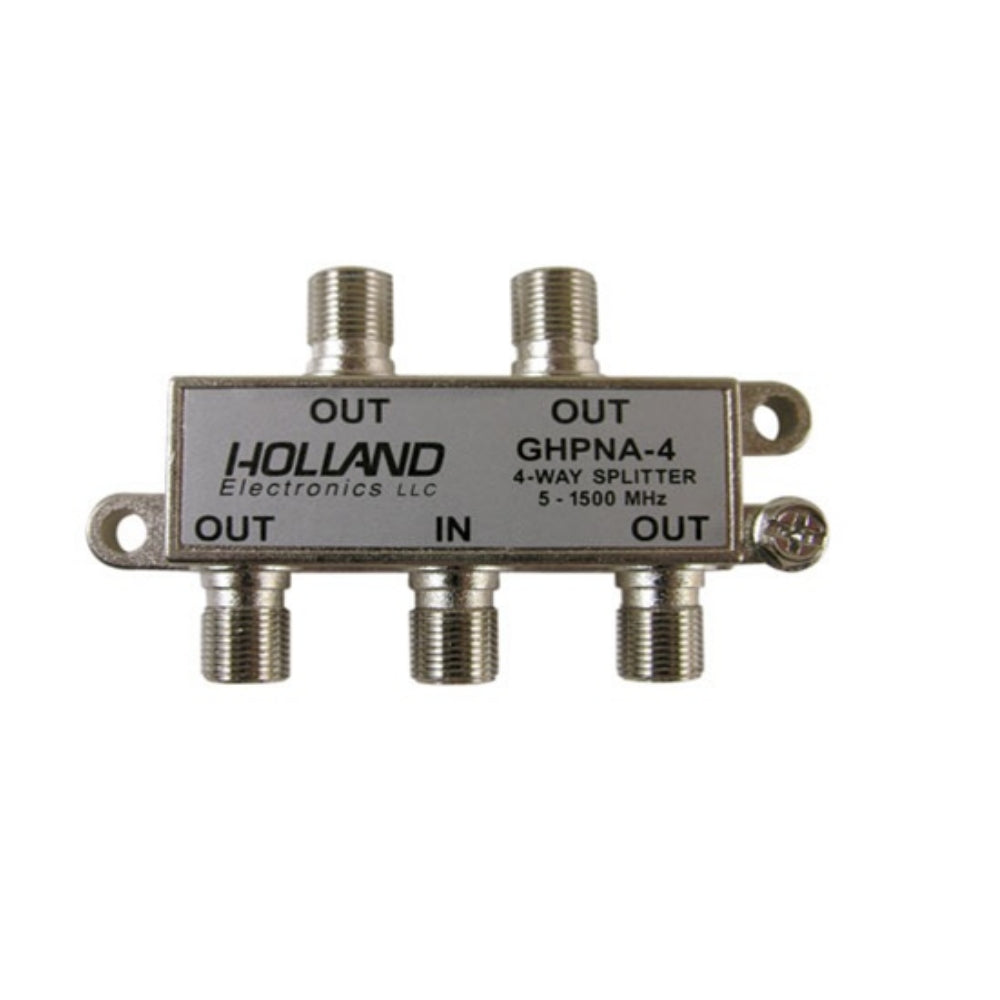 Holland GHPNA-4  4-Way IPTV Coaxial Splitter - 21st Century Entertainment Inc.