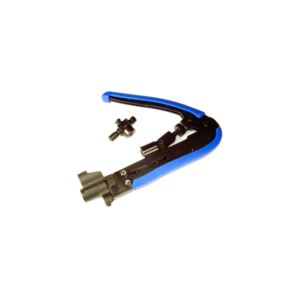 4 in 1 Coax Compression Tool F Connector Flaring Tool for RG59//6 Coax Cable