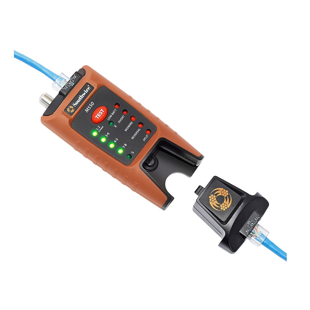 STW1054 - Southwire™ M550 Data/Video Cable Tester