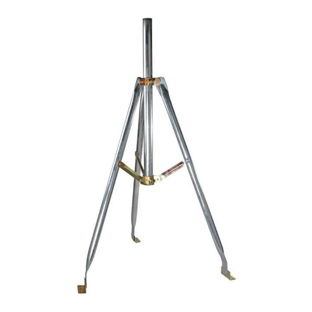 "Aska ASK2014 Heavy Duty 3ft Tripod Base with 28"" Mast, 1.66"" OD - 21st Century Entertainment Inc."