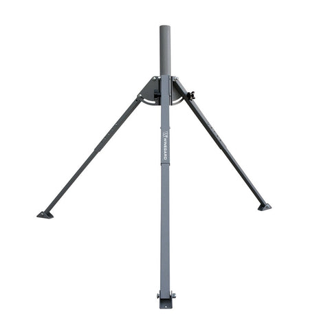"CDD 3 ft. Galvanized Tripod Kit, comes with 24 Pole, 1 5/8"" & 2"" OD (Universal Post Kit)"