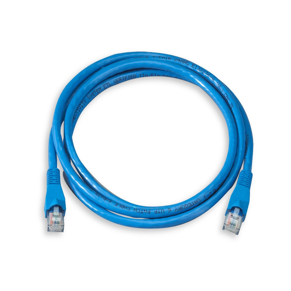 Cat5E Cable with Molded Boots, 10 Ft - 21st Century Entertainment Inc.