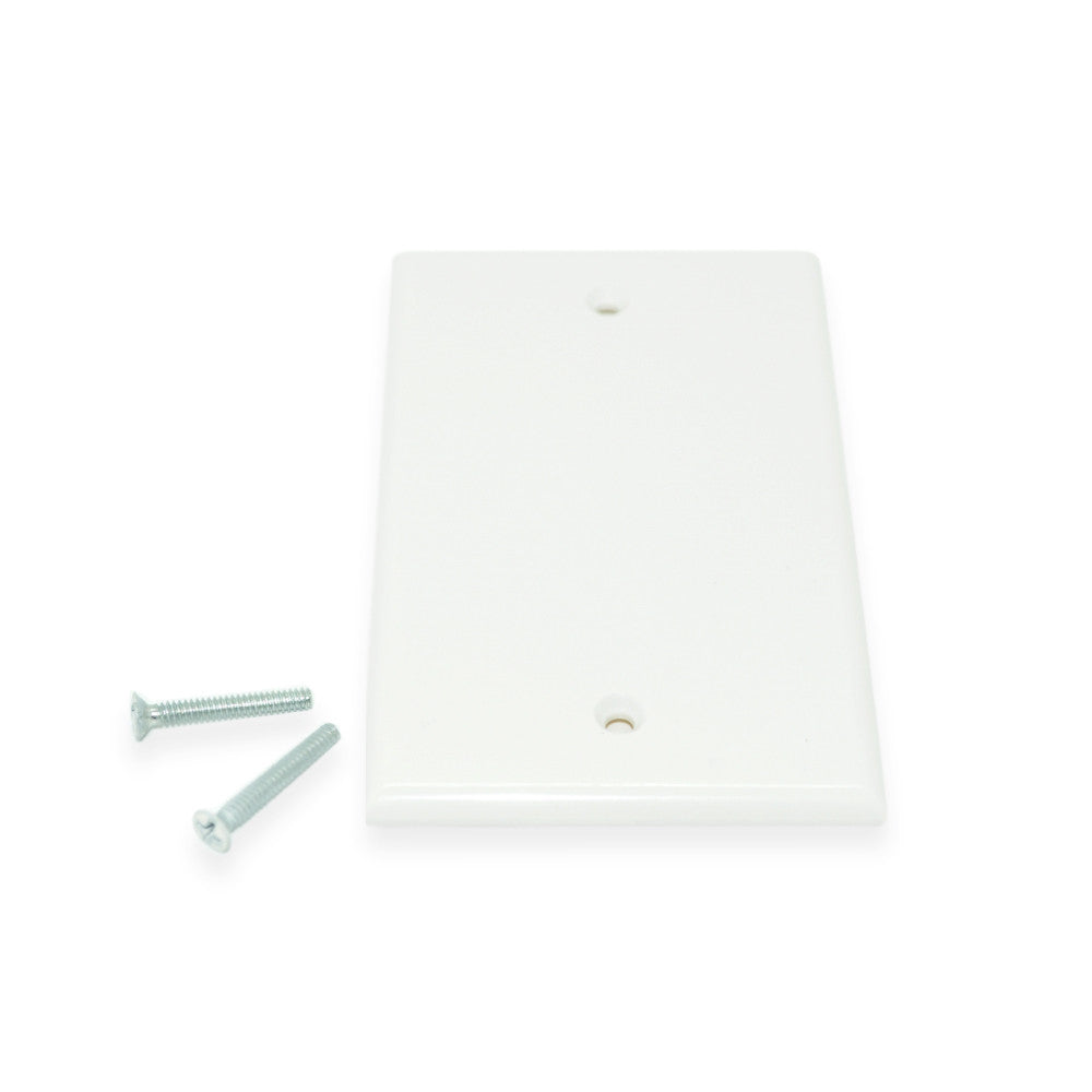 Wall Plate, Blank, White - 21st Century Entertainment Inc.