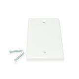 CDD Wall Plate, Blank, White - 21st Century Entertainment Inc.