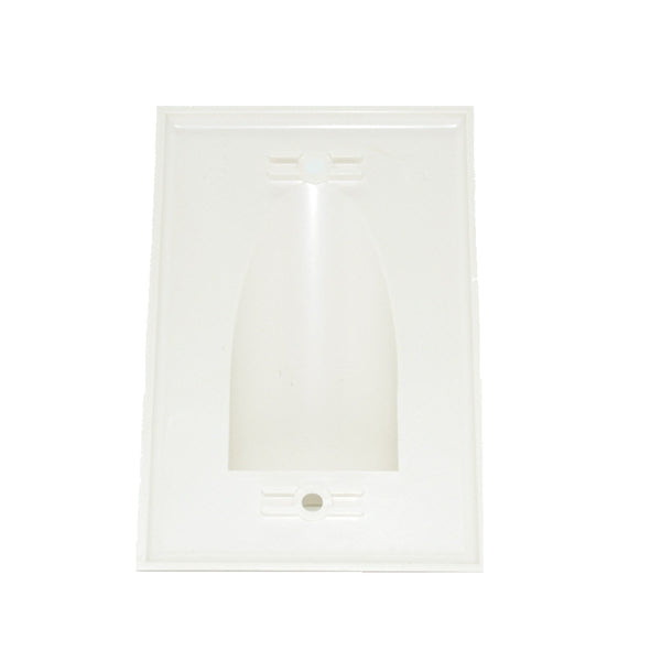 CDD 1 Gang Nose Wall Plate with Large Opening - 21st Century Entertainment Inc.
