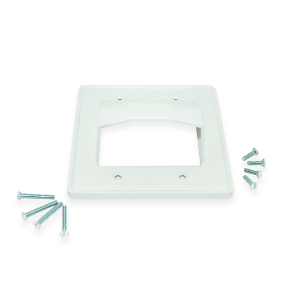 Arlington ARLCE2 Reversible Double Gang Entrance Plate - 21st Century Entertainment Inc.